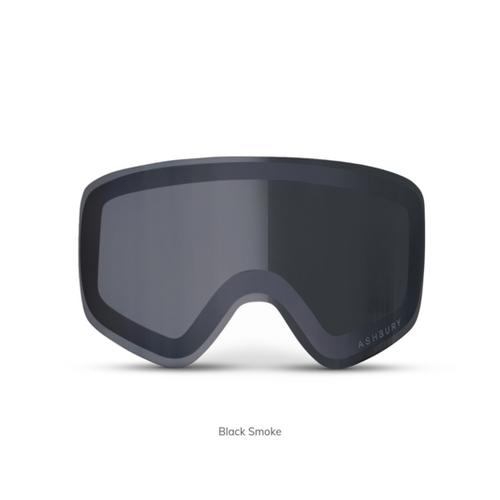 Black Smoke - Ashbury Sonic Goggle Lens