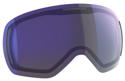 Solar Blue Chrome - Scott LCG Evo Lenses