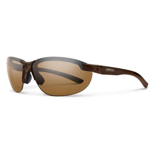 Brown w/ Polarized Brown - Smith Parallel 2 Sunglasses