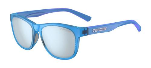 Crystal Sky Blue w/ Smoke Bright Blue - Tifosi Swank Sunglasses
