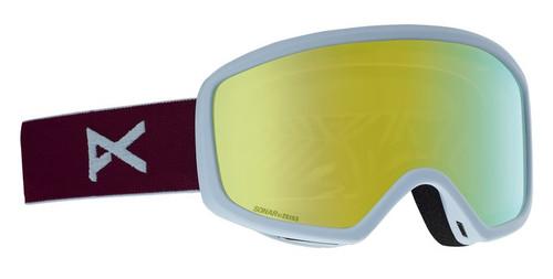Anon Deringer Womens Snow Goggle Purple Sonar Lenses
