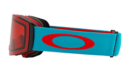 Oakley Fall Line Caribbean Red Sea Ski Goggles 2