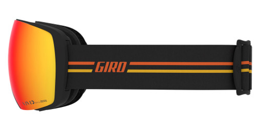 Giro Contact GP Black/Orange Ski Goggles 2