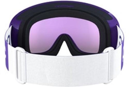 POC Race Fovea Clarity Comp Hydrogen White Ski Goggles  - Strap