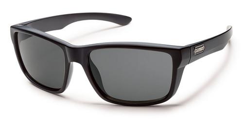 Suncloud Mayor Matte Black Sunglasses