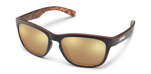 SunCloud Cinco Black Havana Backpain Sunglasses
