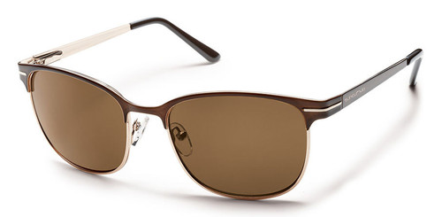 SunCloud Causeway  Brown Polarized Sunglasses