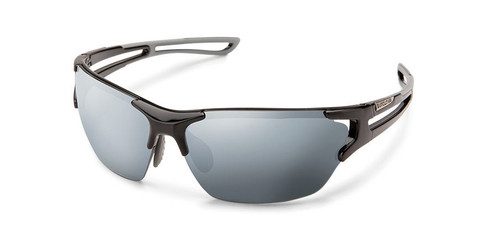 SunCloud Cutback Black Polarized Sunglasses