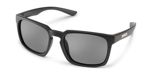 SunCloud Hundo Matte Black Polarized Sunglasses