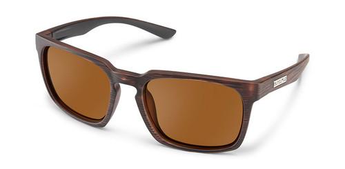 SunCloud Hundo Burnished Brown Polarized Sunglasses