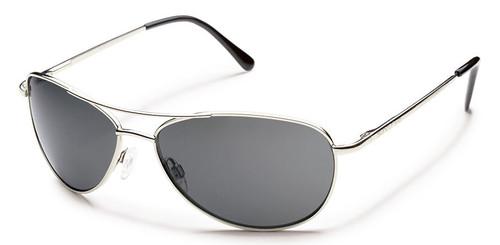 SunCloud Patrol Silver Polarized sunglasses