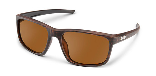 SunCloud Respek Burnished Brown Sunglasses Polarized