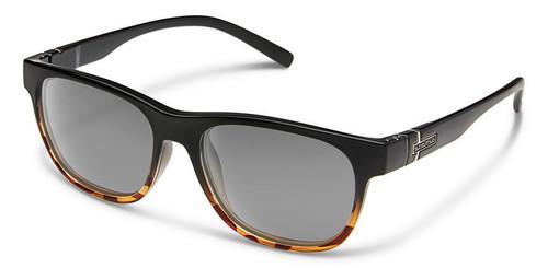 SunCloud Scene Sunglasses Black Tortoise Polarized