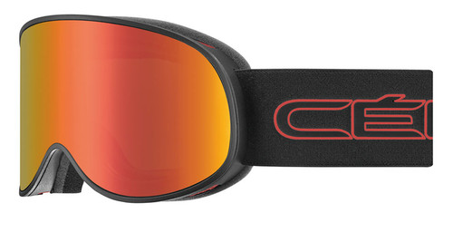Cebe Attraction Matte Black Red Snow Goggle