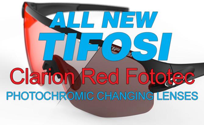 Tifosi Optics Clarion Red Fototec Lens, What's Hot!