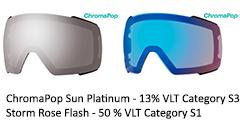 Chromapop Sun platinum & Rose Flash