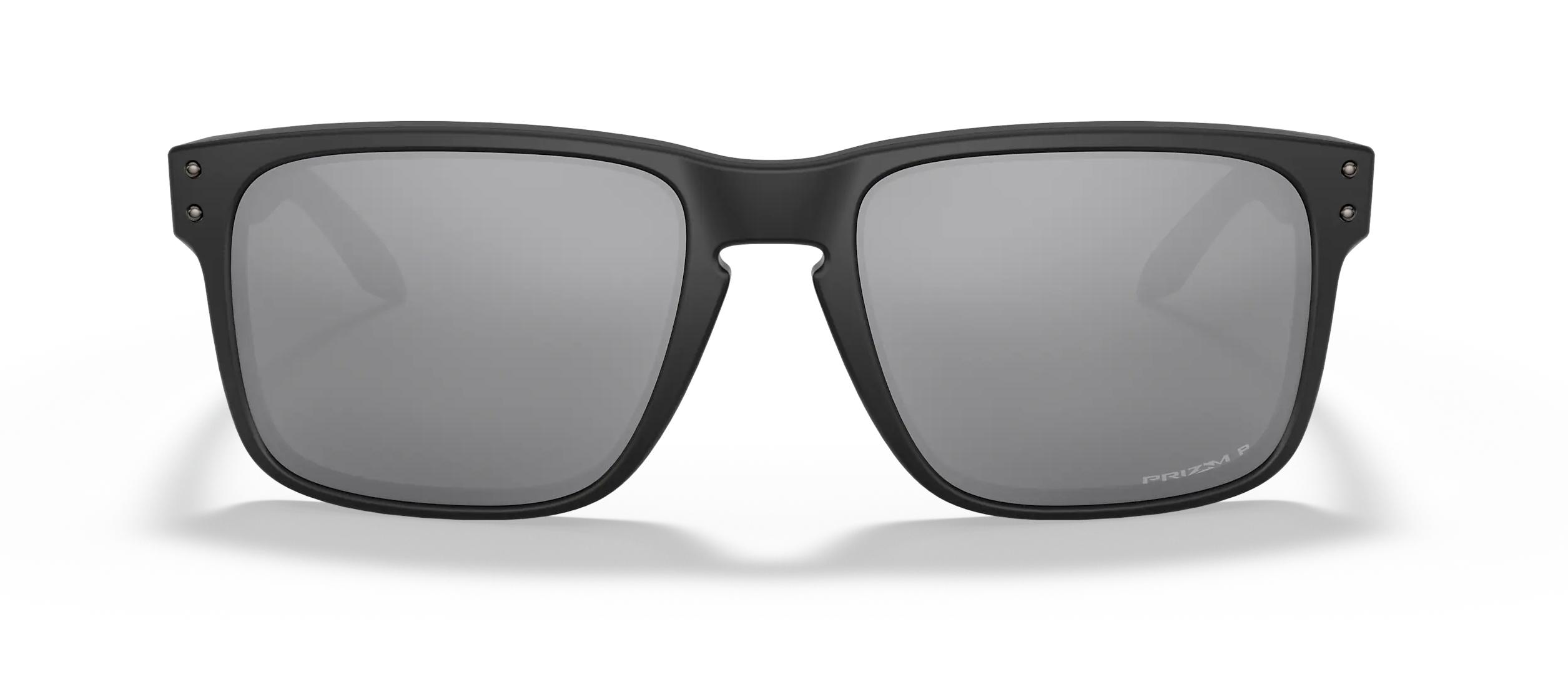 Oakley Holbrook sunglasses black frame front