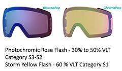 Cp Photochromic Rose Flash & Yellow Storm