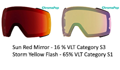 Chromapop Sun Red Mirror & Yellow Storm