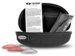 Tifosi included case, microfiber cloth, & lenses