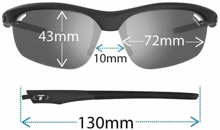 tifosi veloce reader sunglasses fit