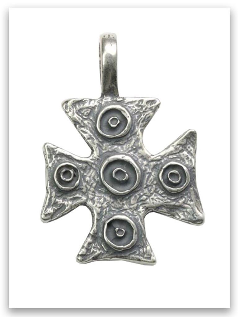 Daniel Cross Sterling Silver Pendant