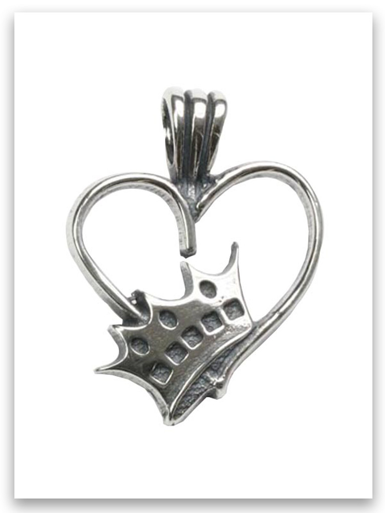 Grandmother Sterling Silver Pendant