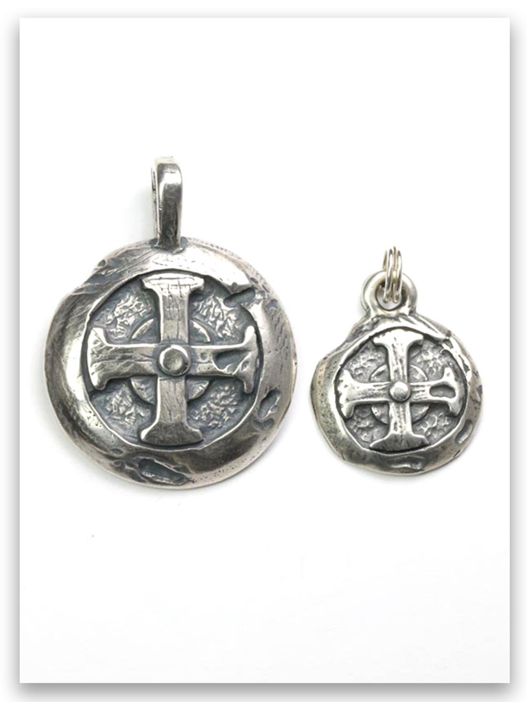 Hoplon Shield Men's Pendant (wife charm sold separate)