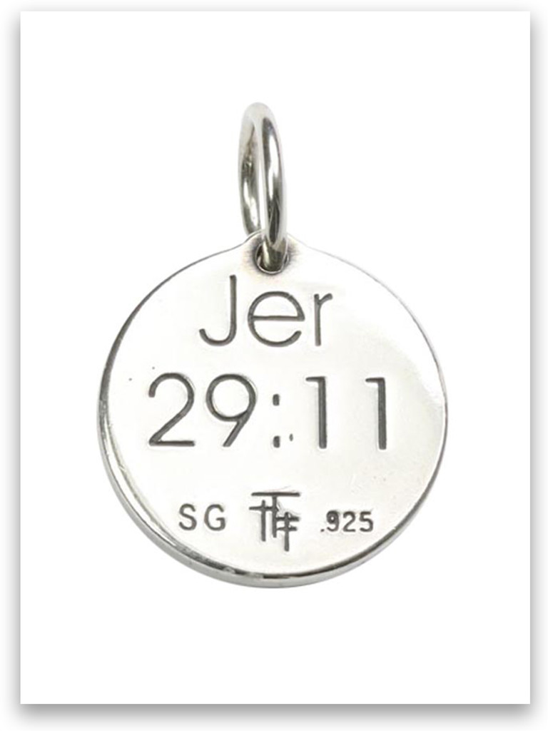 Sterling Silver I Know Charm