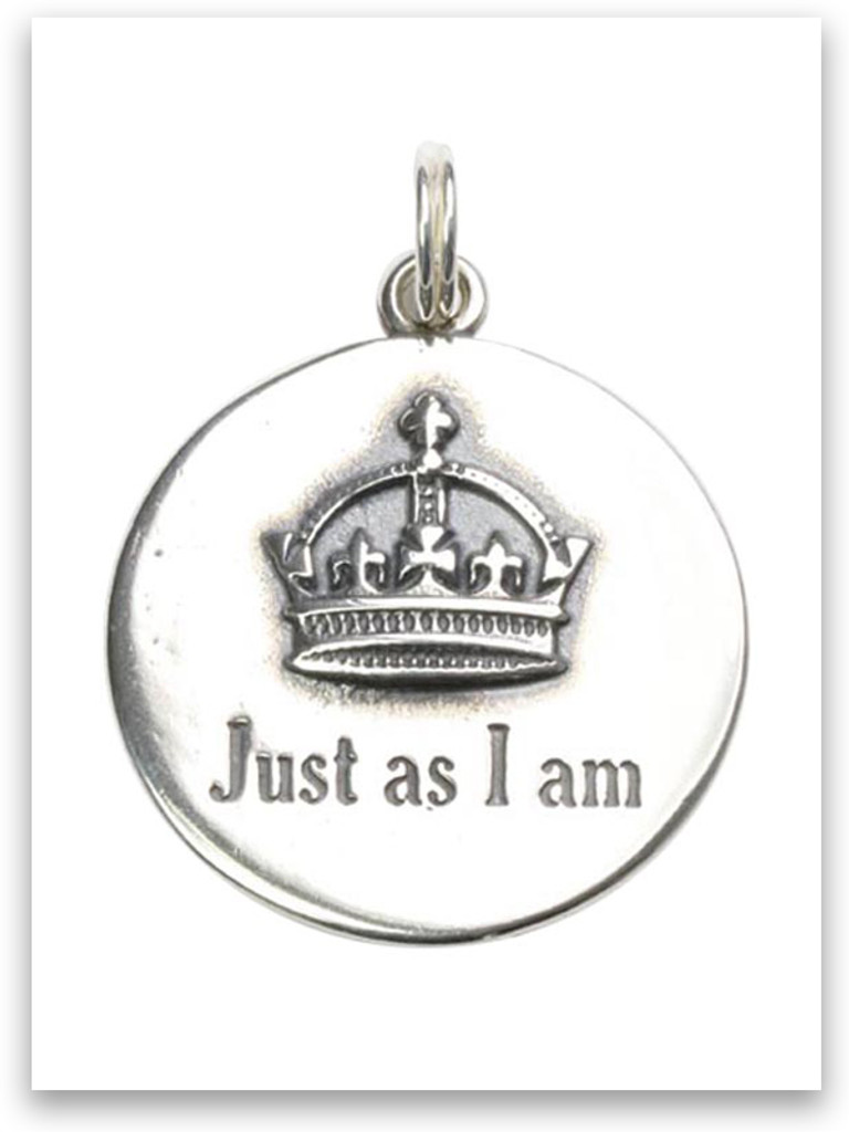 Sterling Silver Just As I am Charm
