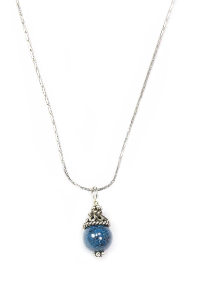Eilat Stone Drop Necklace to match earrings (SOLD Separately)