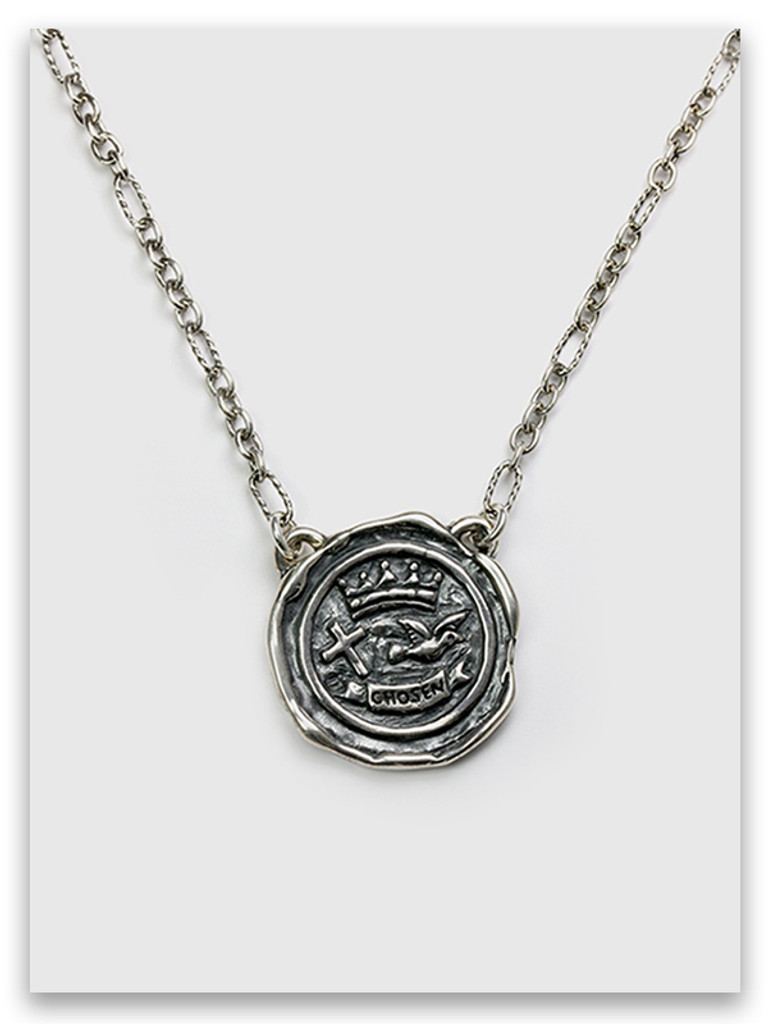 Ephesians Crest Choker Necklace