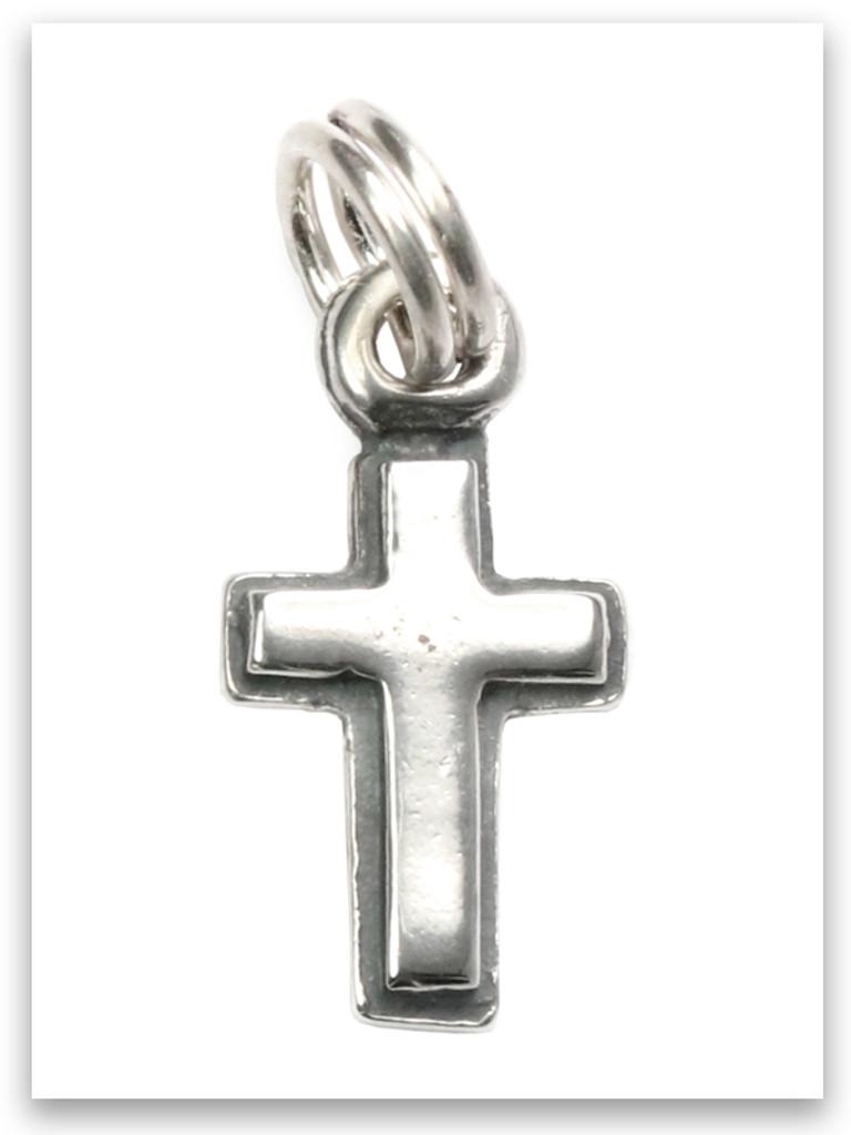 Latin Cross Sterling Silver Charm
