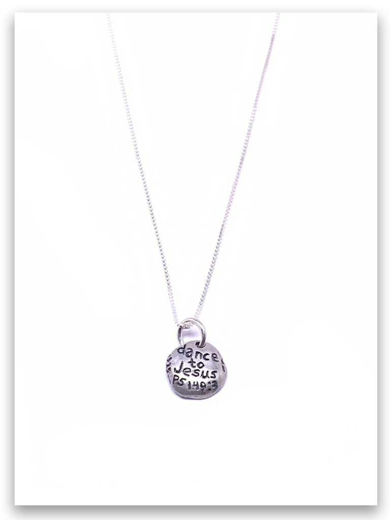 Dance Sterling Silver Necklace