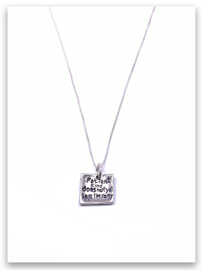 Love Is Sterling Silver Necklace