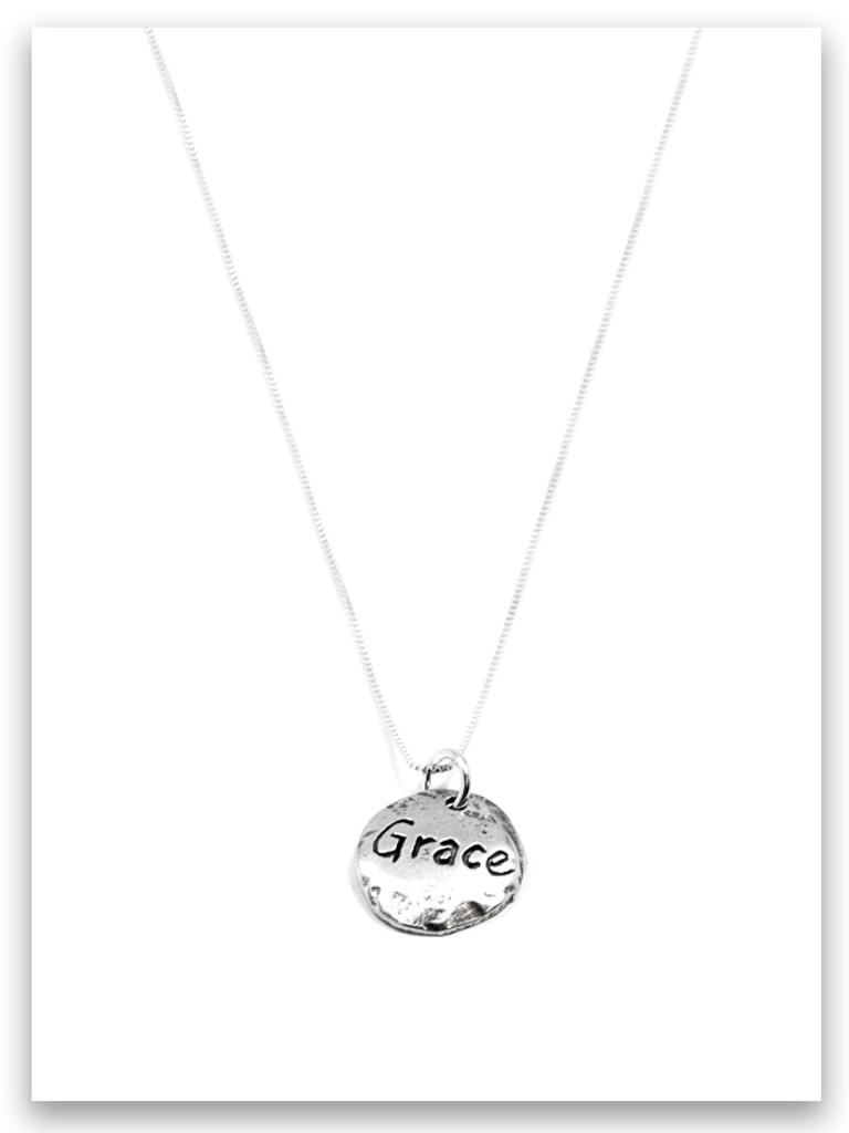 Touched By Grace Sterling Silver Necklace