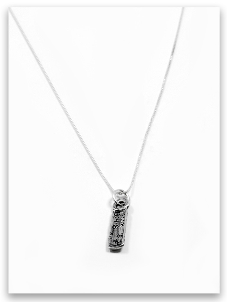 Love iTAG Sterling Silver Necklace