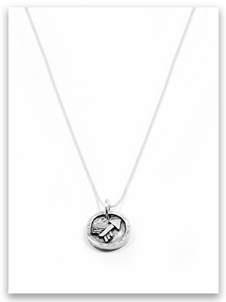 Parenting iTAG Sterling Silver Necklace