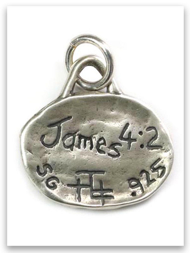 Ask iTAG Sterling Silver Charm