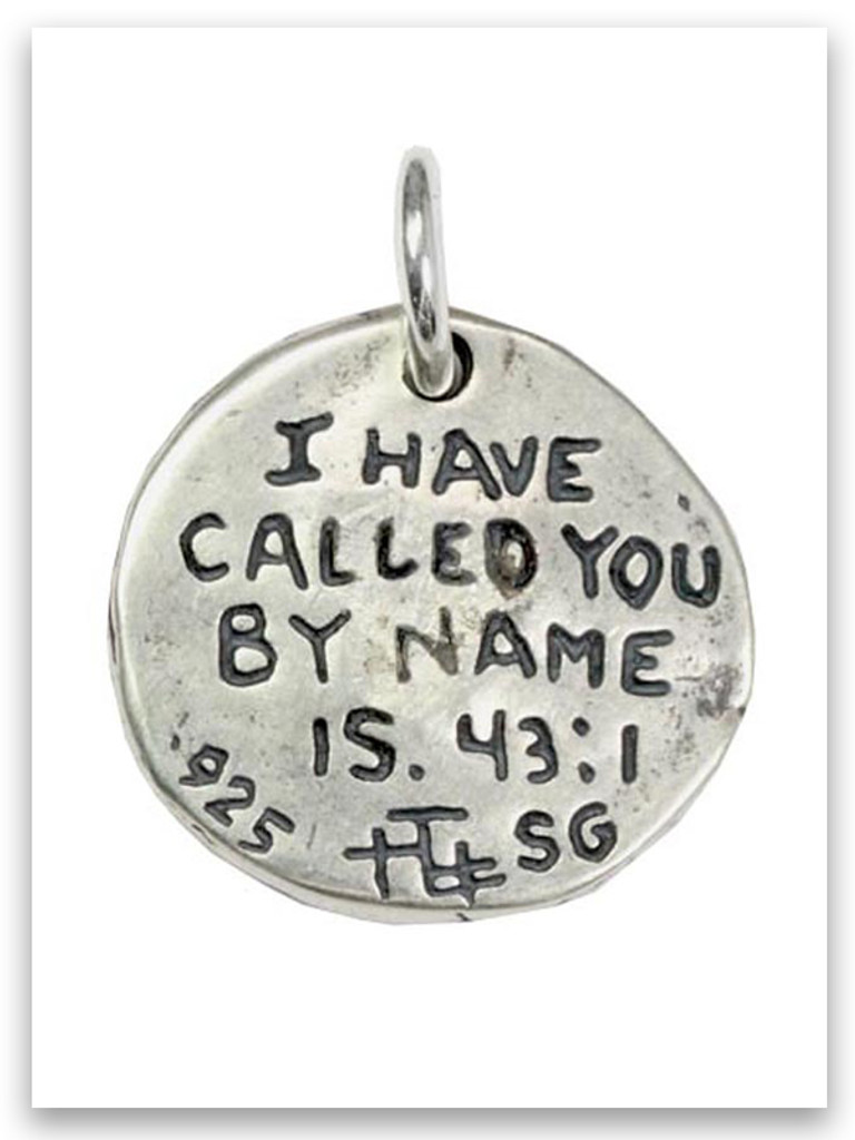 My Name Sterling Silver iTAG Charm