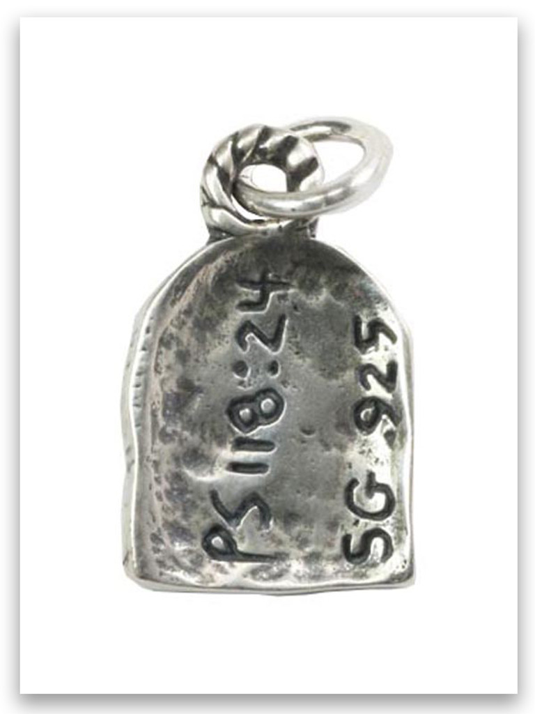 This Is The Day Sterling Silver iTAG Charm