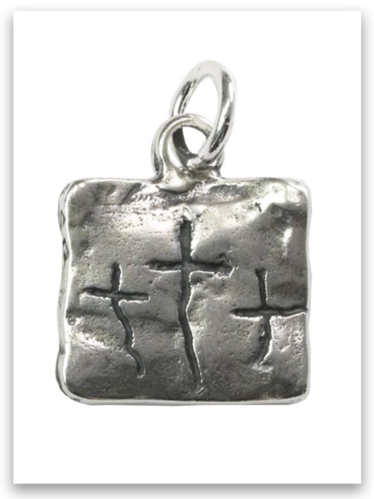 Sterling's Trio Sterling Silver Charm