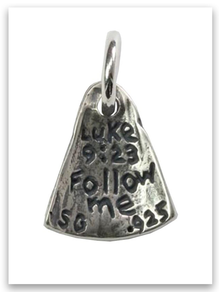 Follow Me Sterling Silver Charm