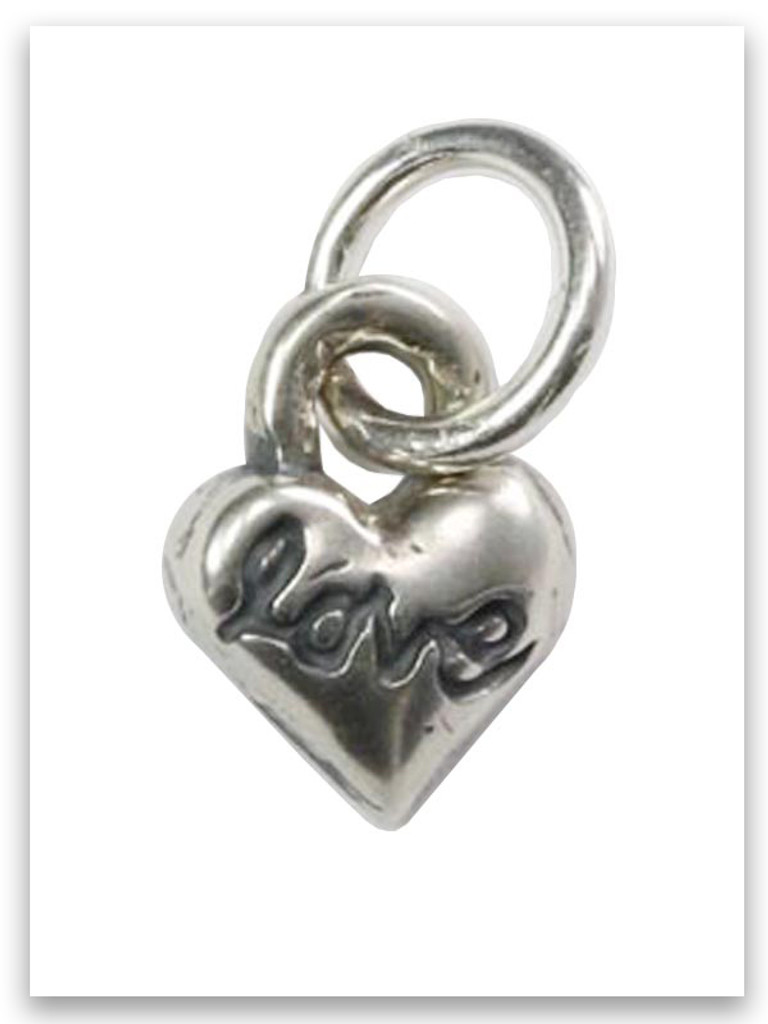 Heart Sterling Silver Charm