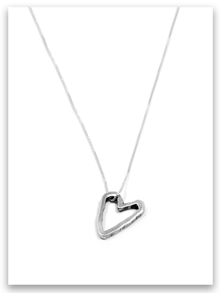 Guard Your Heart iTAG Sterling Silver Necklace