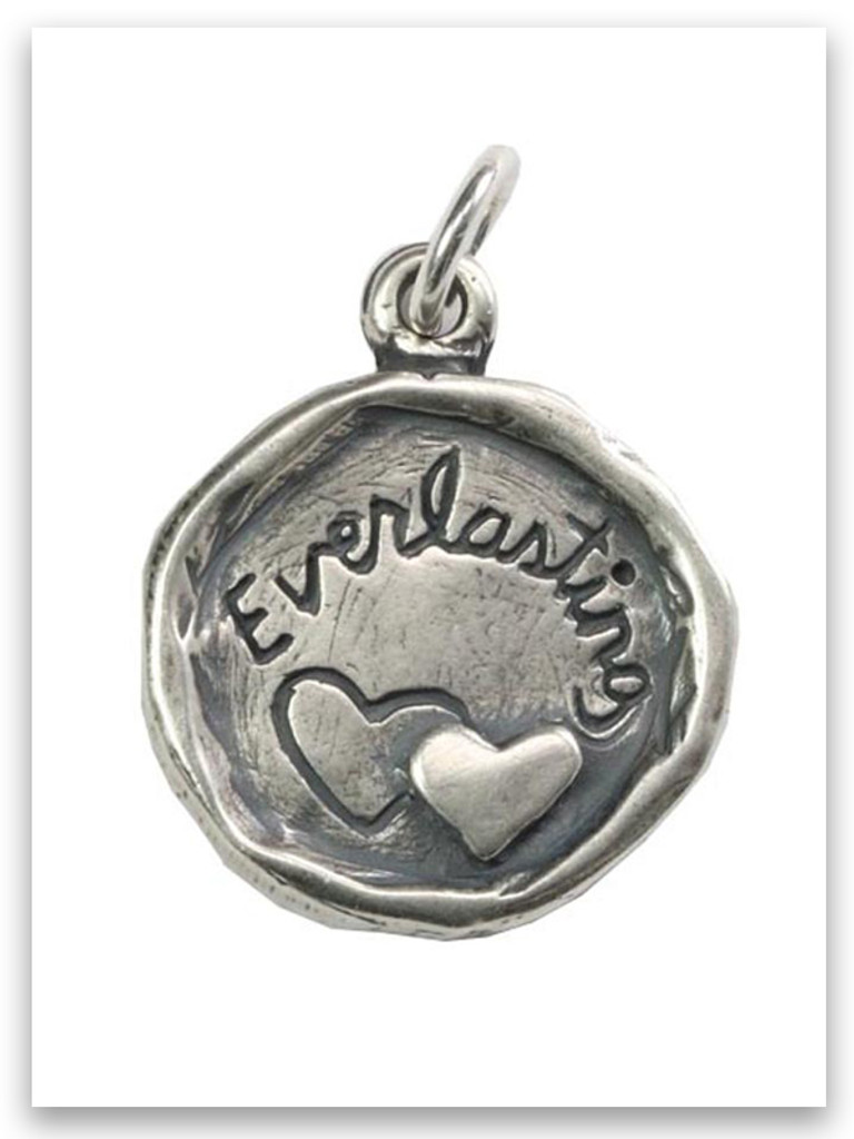 Everlasting Sterling Silver iTAG Charm