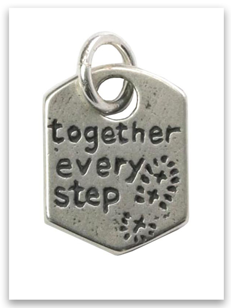 Every Step Sterling Silver Charm