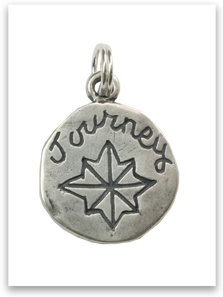 Sterling Silver Journey Charm
