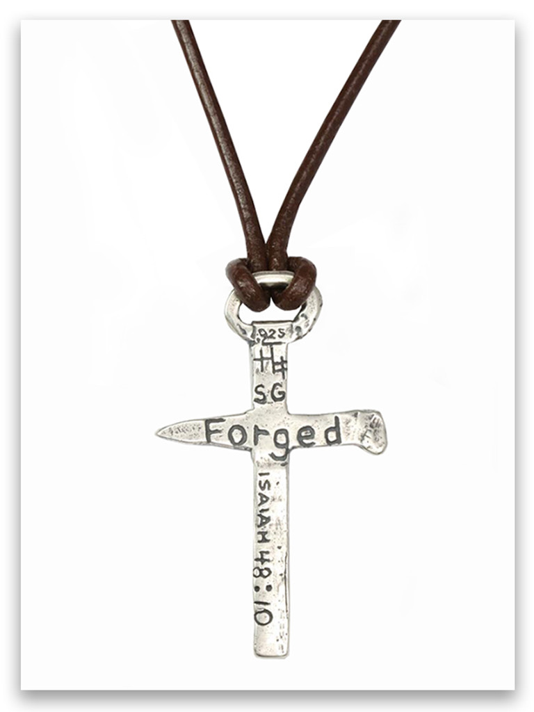 Forged Men's Necklace (Back view)
