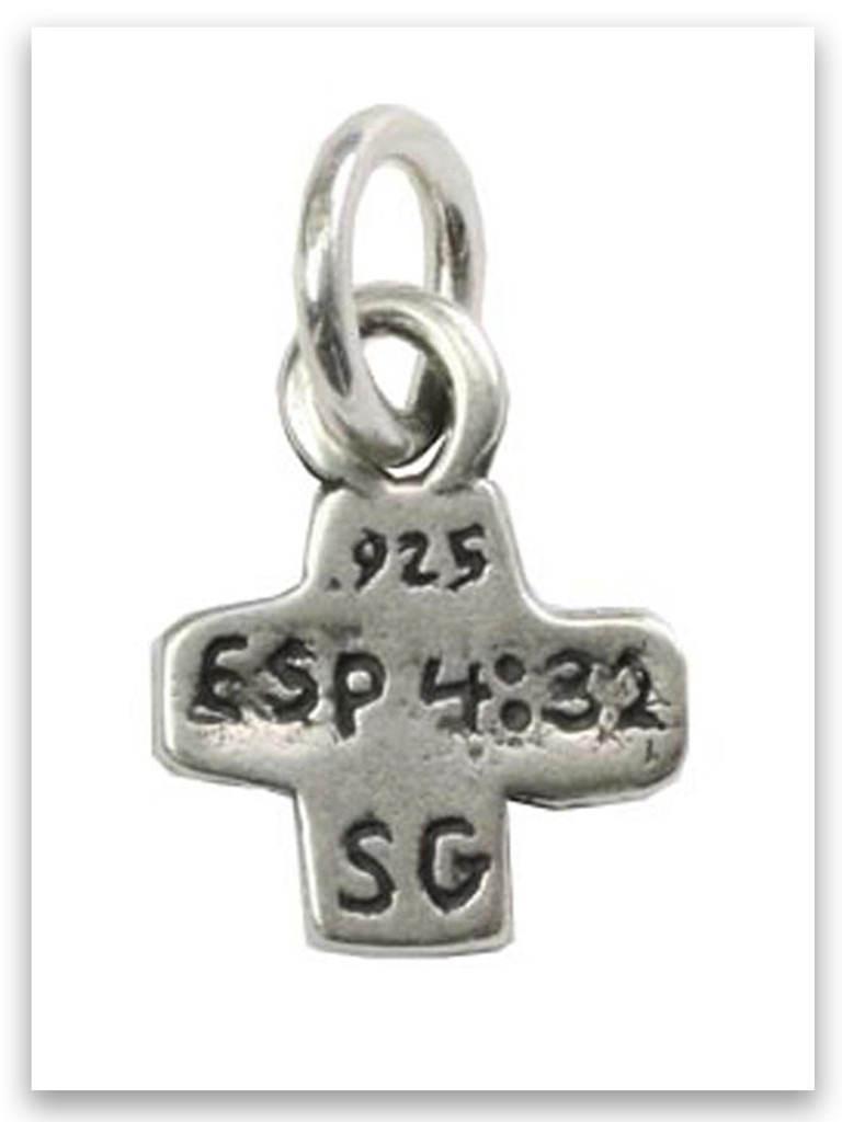 Be Kind Sterling Silver Charm